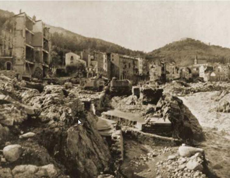 Aiguat de 1940 Amélie les Bains