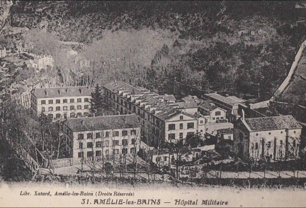 hôpital thermal militaire