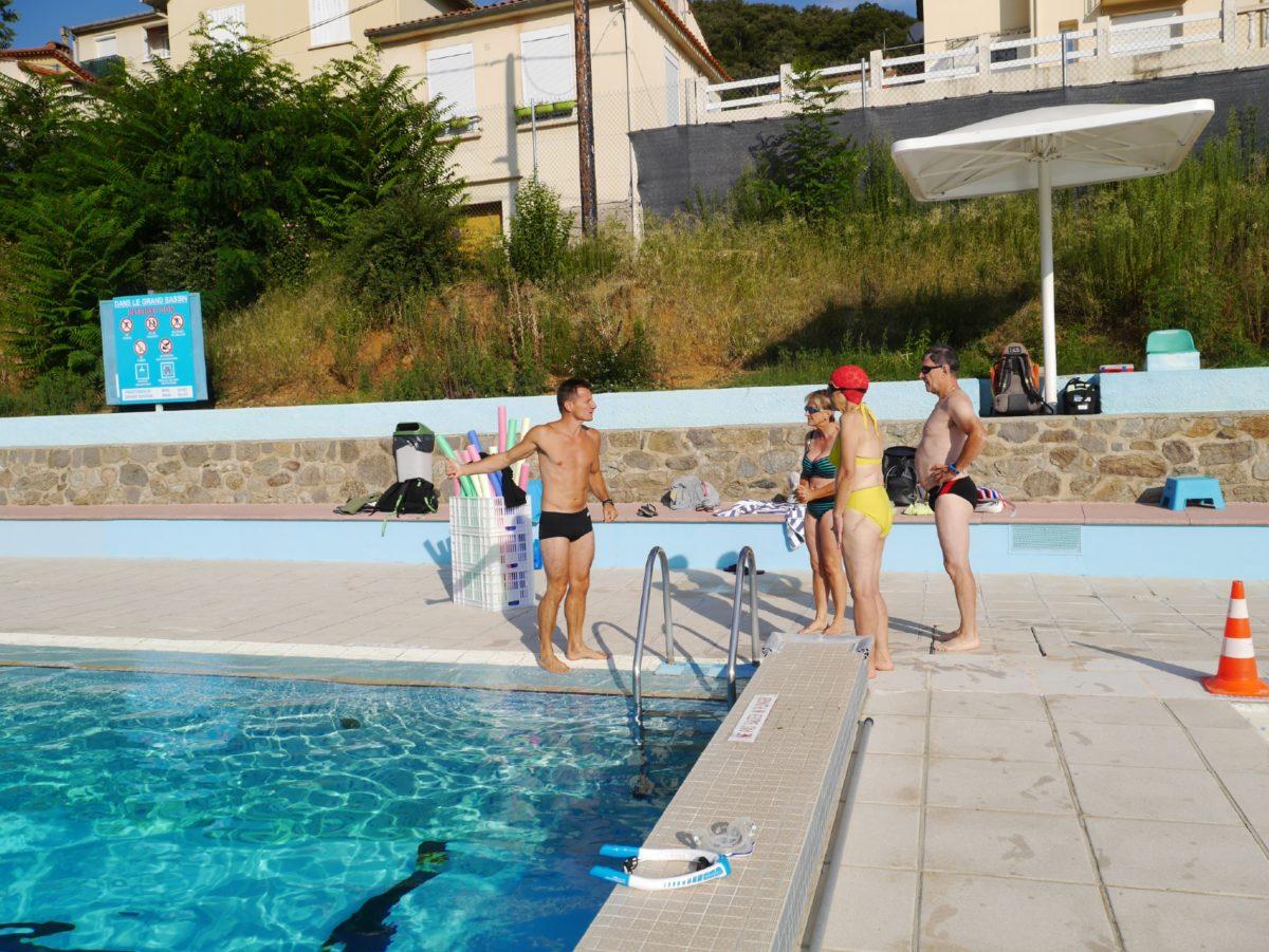 stage sportif natation